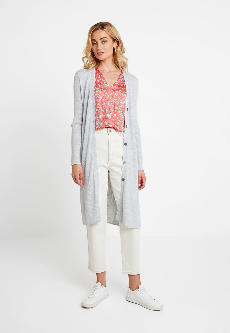 Banana Republic - BLEND DUSTER CARDIGAN - Cardigan - light grey heather