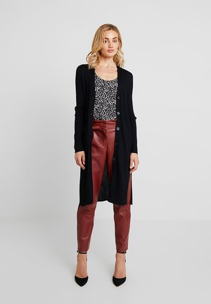 BLEND DUSTER CARDIGAN - Strikjakke /Cardigans - black