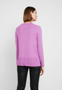 Banana Republic - SUPERSOFT CREW SOLIDS - Jumper - orchid purple - 2