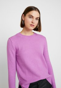 Banana Republic - SUPERSOFT CREW SOLIDS - Jumper - orchid purple - 3