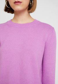 Banana Republic - SUPERSOFT CREW SOLIDS - Jumper - orchid purple - 5