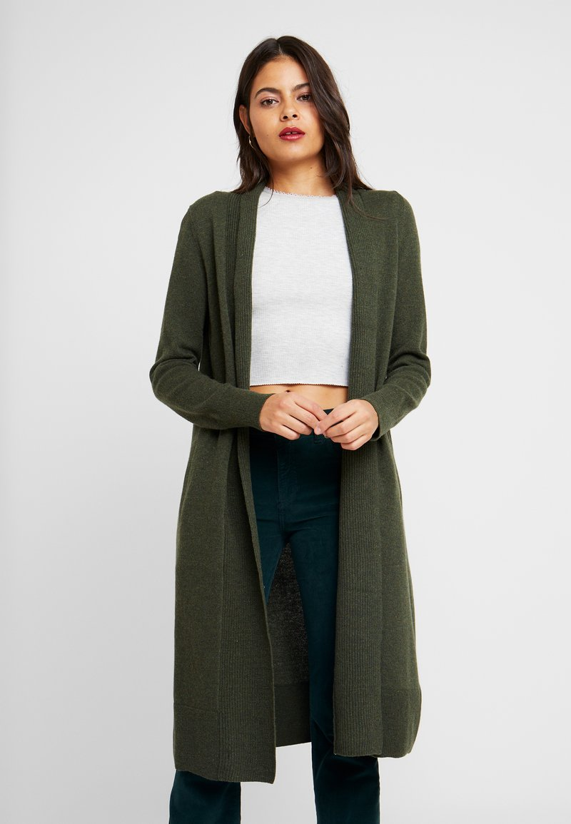 Banana Republic - BLEND DUSTER - Cardigan - forest green