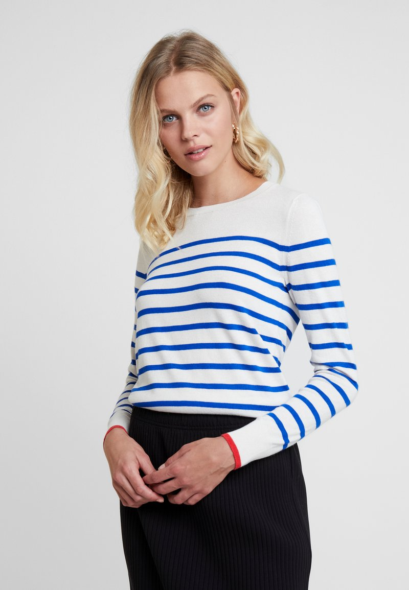 Crew Tipped Stripe   Strickpullover by Banana Republic