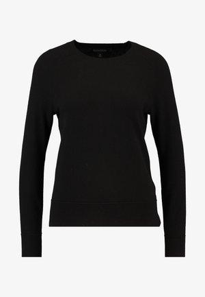 NEW WAY CREW SOLIDS - Sweter - black