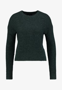 Banana Republic - POINTELLE FLUFFY CREW - Jumper - forest green - 4