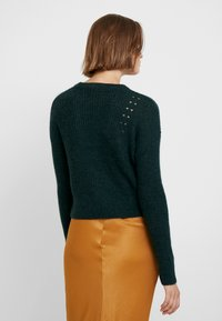Banana Republic - POINTELLE FLUFFY CREW - Jumper - forest green - 2