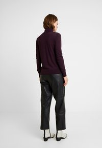 Banana Republic - TURTLENECK - Jumper - burgundy - 2