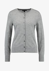 Banana Republic - CREW CARDIGAN - Cardigan - medium grey - 4