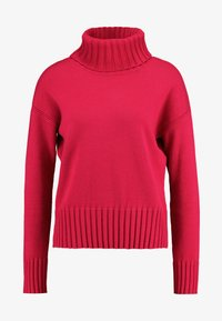 Banana Republic - BEST TRIM TURTLENECK SOLIDS - Maglione - night fuchsia - 4
