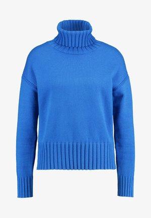 BEST TRIM TURTLENECK SOLIDS - Sweter - bright blue