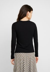 Banana Republic - CREW NECK SOLIDS - Maglietta a manica lunga - black - 2