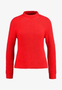 Banana Republic - RAGLAN MOCKNECK SOLIDS - Jumper - true red - 4