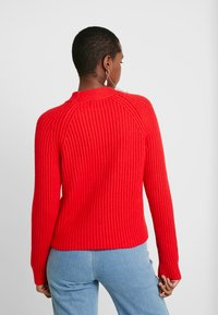 Banana Republic - RAGLAN MOCKNECK SOLIDS - Jumper - true red - 2