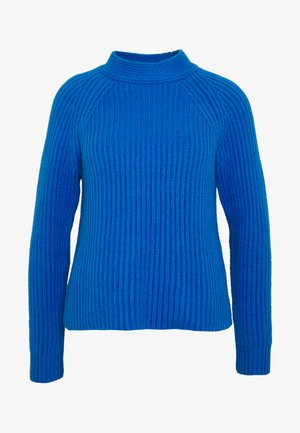 RAGLAN MOCKNECK SOLIDS - Maglione - bright blue