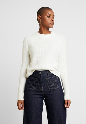 AIRE RAGLAN SLEEVE CREW - Sweter - ivory