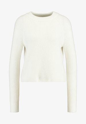 AIRE RAGLAN SLEEVE CREW - Jumper - ivory