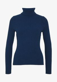 Banana Republic - TURTLENECK - Jersey de punto - deep blue - 3