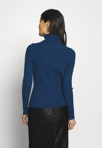 Banana Republic - TURTLENECK - Jersey de punto - deep blue