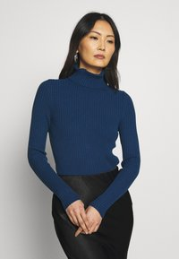 Banana Republic - TURTLENECK - Jersey de punto - deep blue - 0