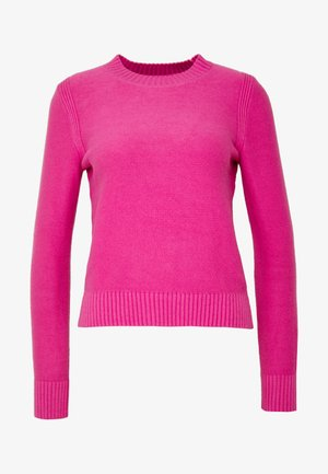 CUSHION CREW SOLIDS - Pullover - pop pink