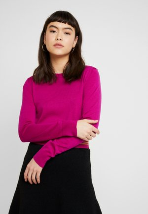 CREW SOLIDS - Jumper - bright magenta
