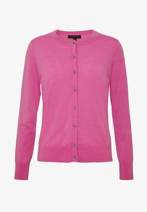 CREW CARDIGAN SOLIDS - Cardigan - miami pink