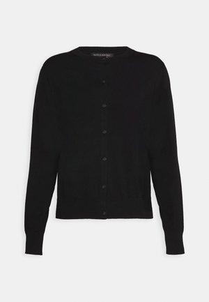 CARDIGAN - Vest - black
