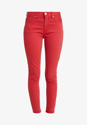 MIDRISE RELEASE HEM - Jeans Skinny Fit - vamp red