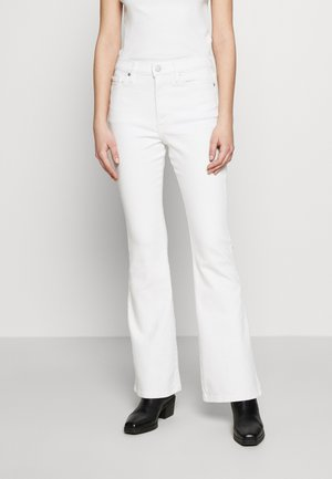 FULL FLARE  - Bootcut jeans - white