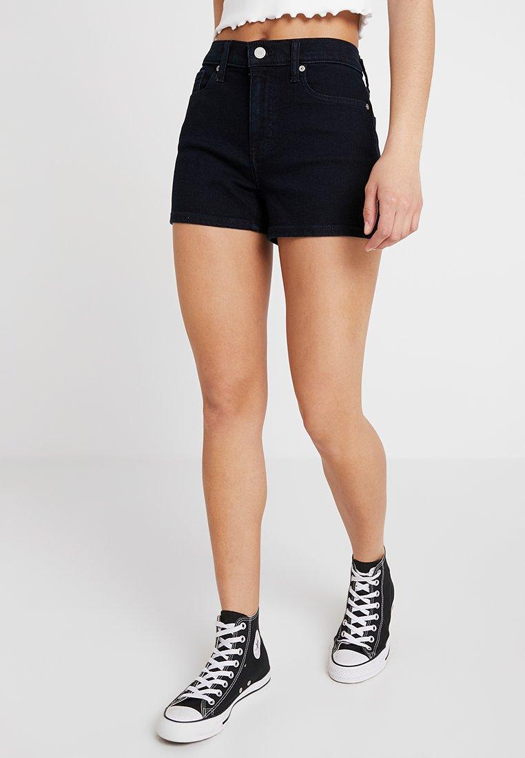 Banana Republic - MID RISE DENIM RINSE SHORT - Jeans Shorts - indigo