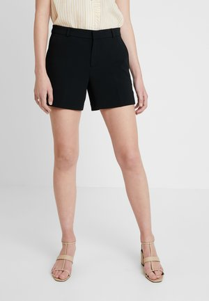 CLEAN CREPE - Shorts - black