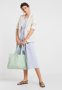 Banana Republic - STRAPPY STRIPE - Jumpsuit - light blue - 1
