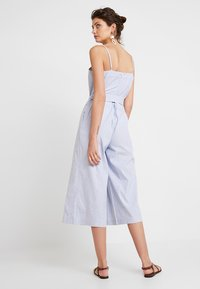 Banana Republic - STRAPPY STRIPE - Jumpsuit - light blue - 2