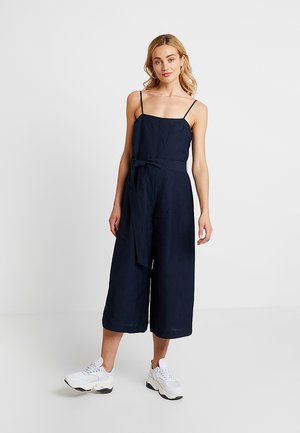 STRAPPY CROSSBACK - Jumpsuit - navy