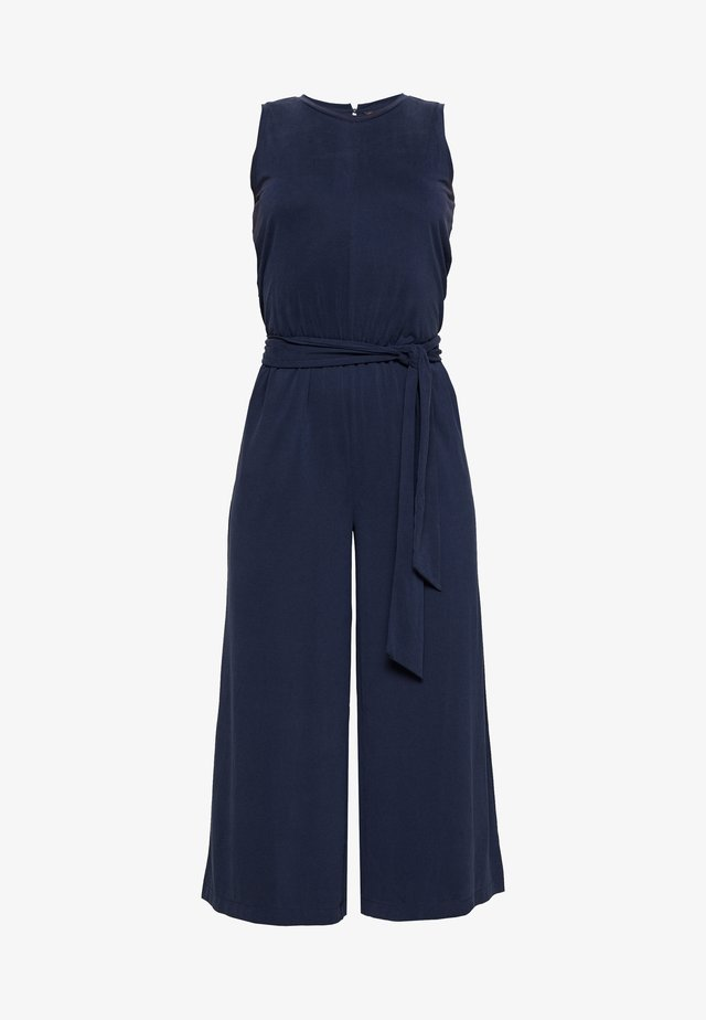 CROPPED WIDE LEG - Overall / Jumpsuit /Buksedragter - preppy navy