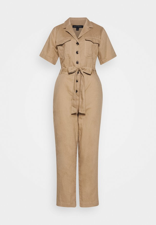 UTILITY - Overall / Jumpsuit - sand khakiglobal