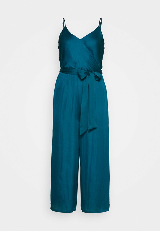 STRAPPY WRAP - Jumpsuit - underwater turq