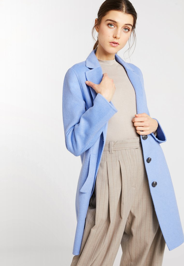 Banana Republic - COAT - Cappotto corto - arctic blue