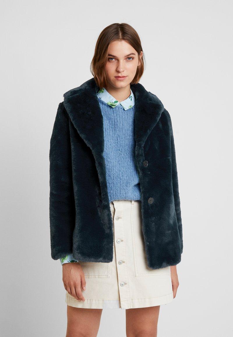 Banana Republic - OVERSIZED COLLAR COAT - Winter jacket - navy