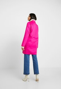 Banana Republic - DOUBLE FACE TOP COAT - Manteau classique - hot bright pink - 2