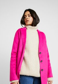Banana Republic - DOUBLE FACE TOP COAT - Manteau classique - hot bright pink - 3