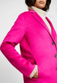 Banana Republic - DOUBLE FACE TOP COAT - Manteau classique - hot bright pink - 5