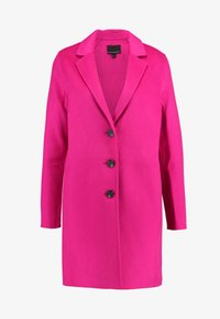 Banana Republic - DOUBLE FACE TOP COAT - Manteau classique - hot bright pink - 4