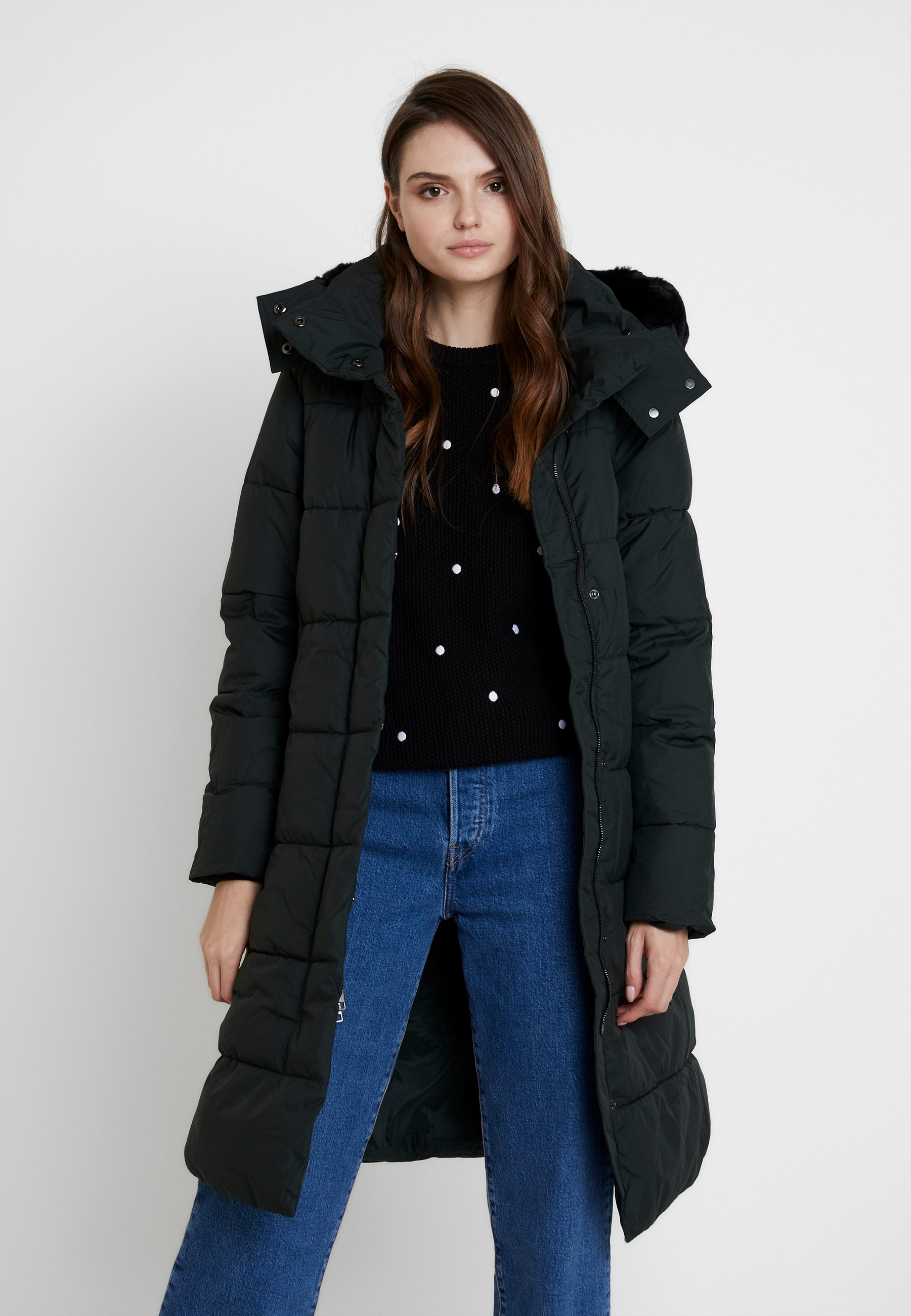 Truffle Trim Puffer Dark Fur Republic Long D'hiver Banana HoodVeste 0OnkwP