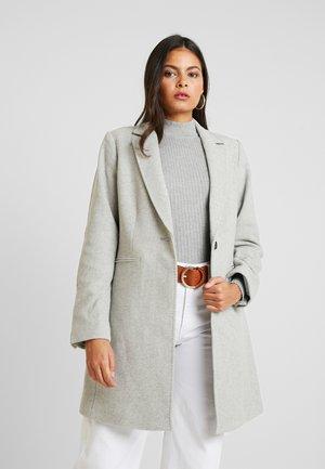 MELTON COAT - Zimní kabát - light grey