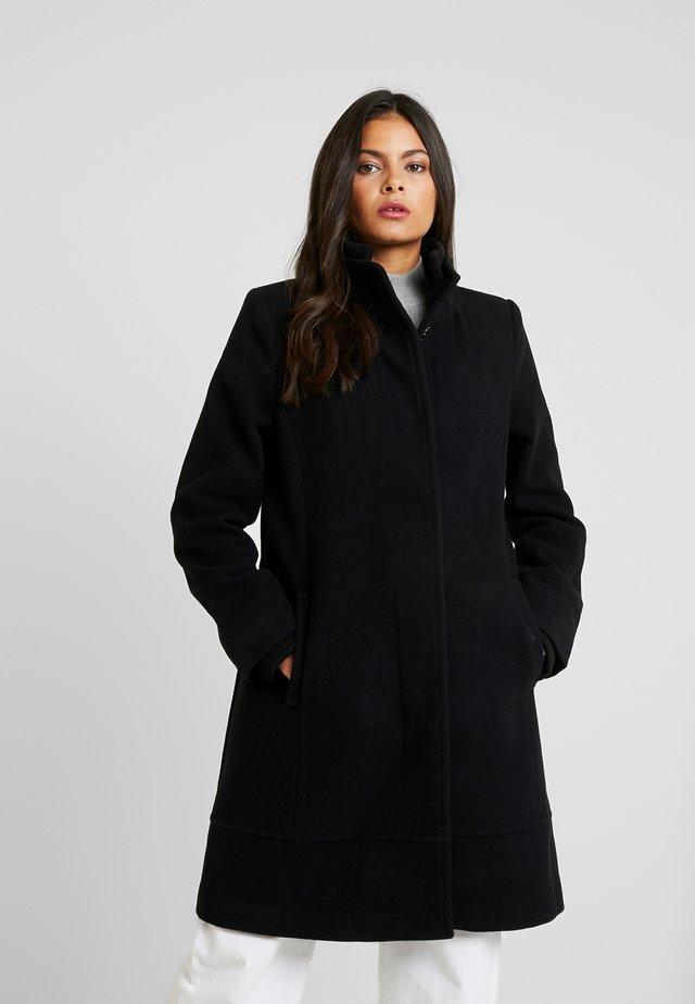 MELTON COAT - Classic coat - black