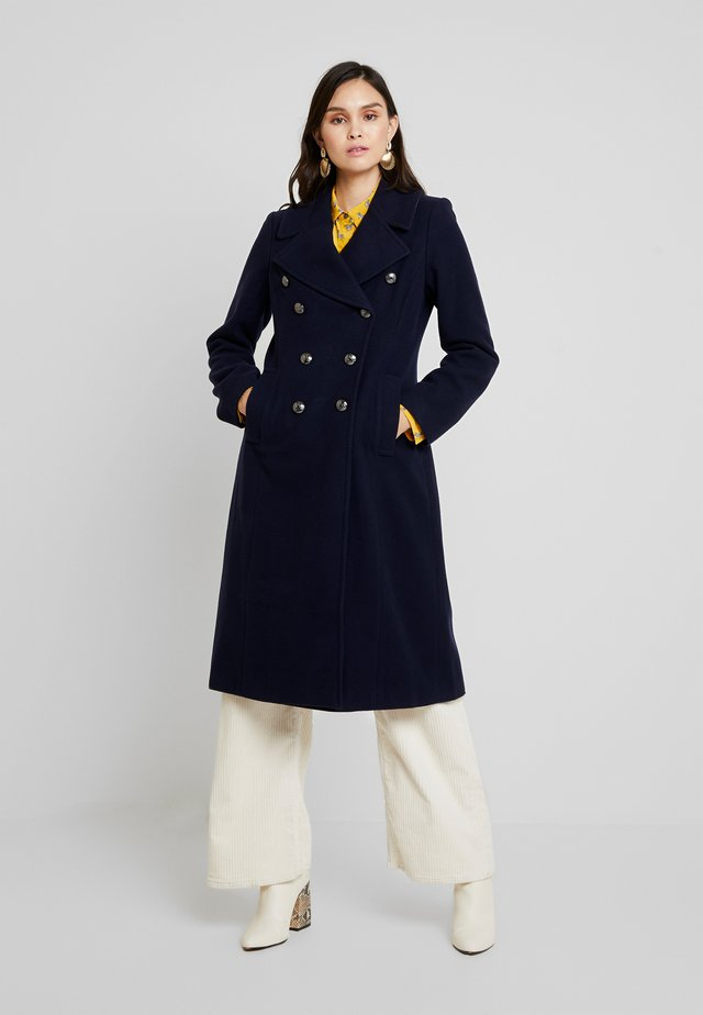 MELTON MILITARY MAXI COAT - Wollmantel/klassischer Mantel - navy