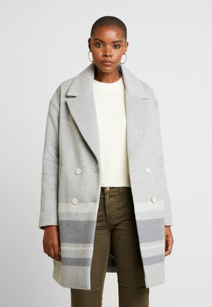 DROP SHOULDER BLANKET - Classic coat - medium grey