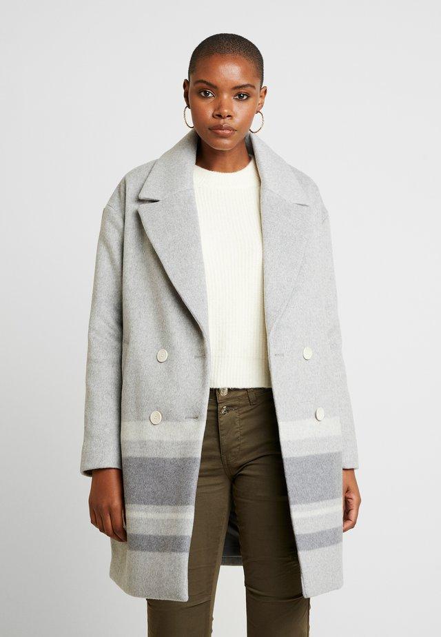 DROP SHOULDER BLANKET - Płaszcz wełniany /Płaszcz klasyczny - medium grey