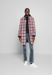 Banana Republic - TRIM PLAID COAT - Classic coat - snow day - 1